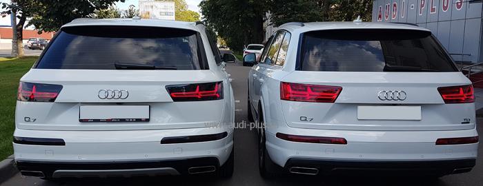 Дополнительное оборудование Audi